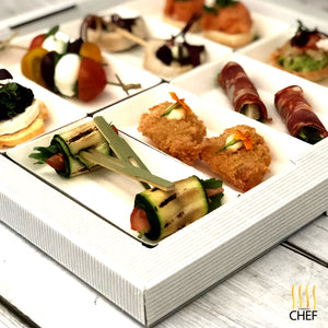 Cocktail Party Canapes Gift Box Kit - CHEF CHOICE - Serves 4 - 6