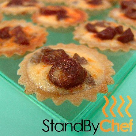 Reheatable hot canapes for catering to your party in london for Canape delivery london