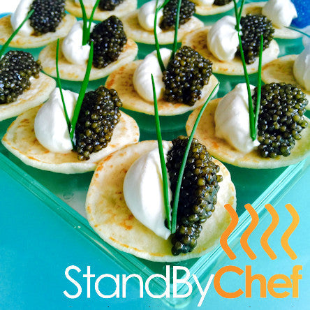 Order online our Luxury Gourmet Canapes