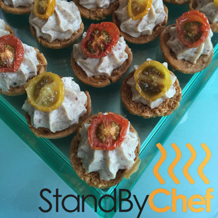 Canapes catering for vegetarian canapes delivered in london for Gluten free canape