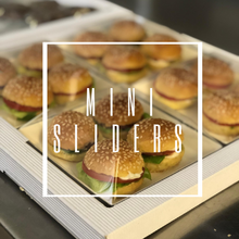 Load image into Gallery viewer, mini slider kit for mini burger finger food kids party