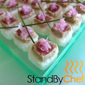fresh party food canapes for party delivered in london