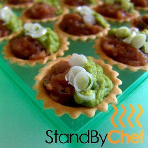 freshly made luxury canapes delivered to you