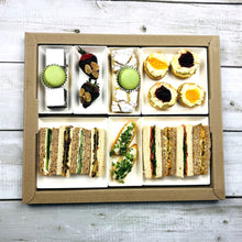 Load image into Gallery viewer, book online your high tea for your gluten free afternoon delivery