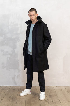 PARKA COAT WOOL