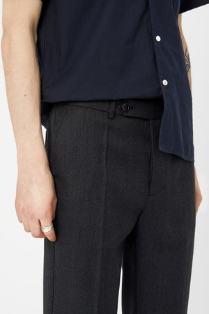 SHADOW TROUSER - Wool Textured Twill
