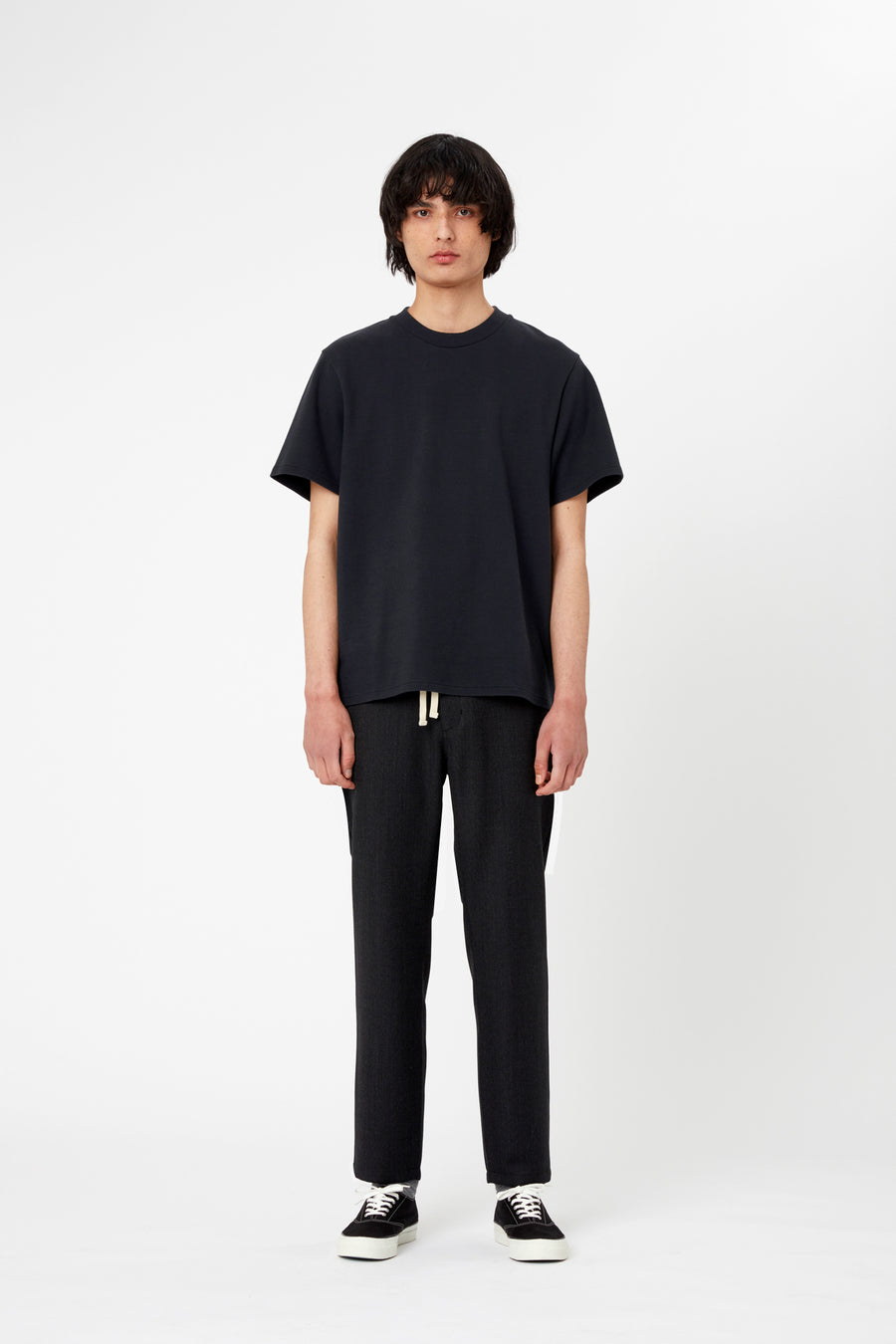ILLUSION TROUSER - Wool Textured Twill