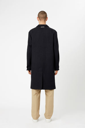 CLASSIC OVERCOAT - Wool Cavalry Twill