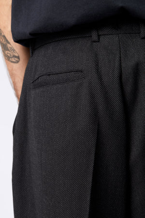 VOLUME TROUSER - Wool Melange