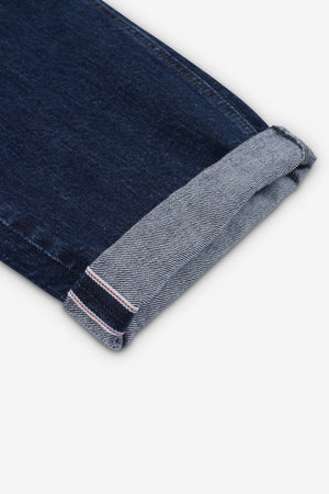 ILLUSION SELVAGE TROUSER - Rinse