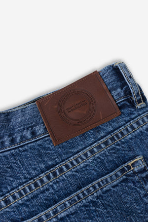 LUCKY SELVAGE TROUSER - Stone
