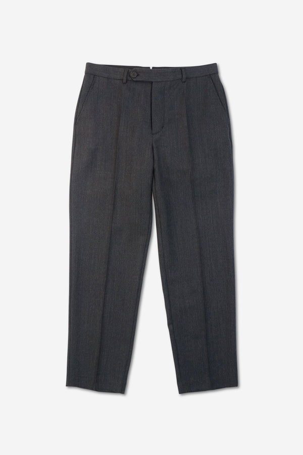 VOLUME TROUSER - Wool Textured Twill