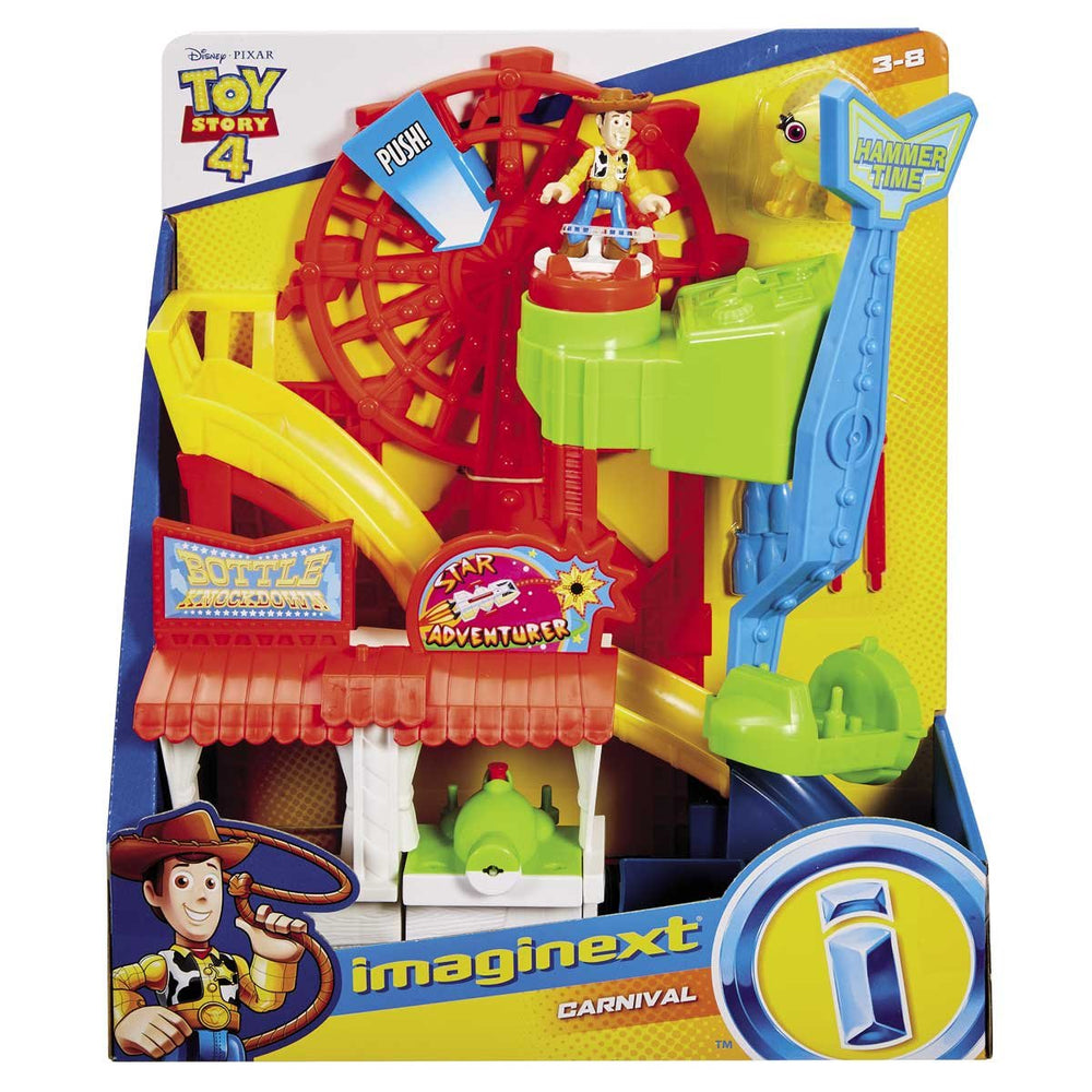 Parque Divertido Toy Story 4  Fisher Price