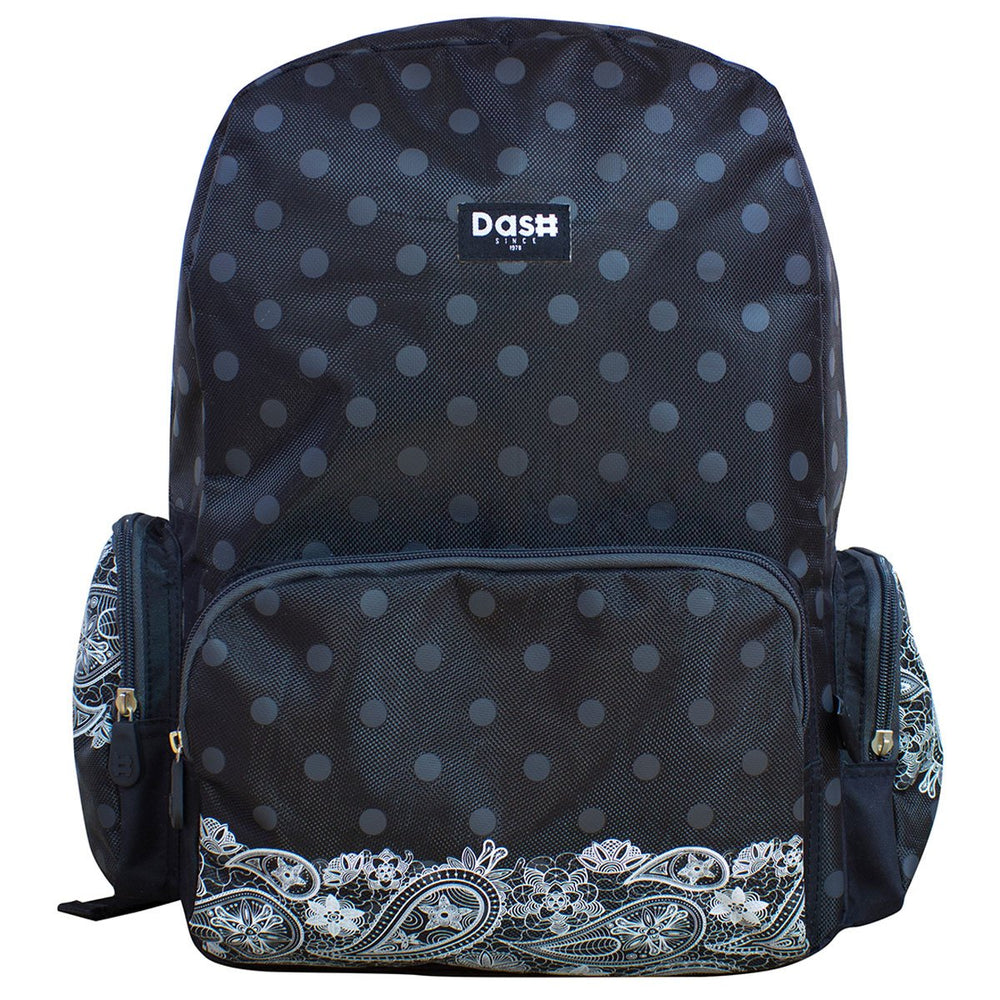 Mochila Tipo Back Pack de Lunares Porta Laptop Dash