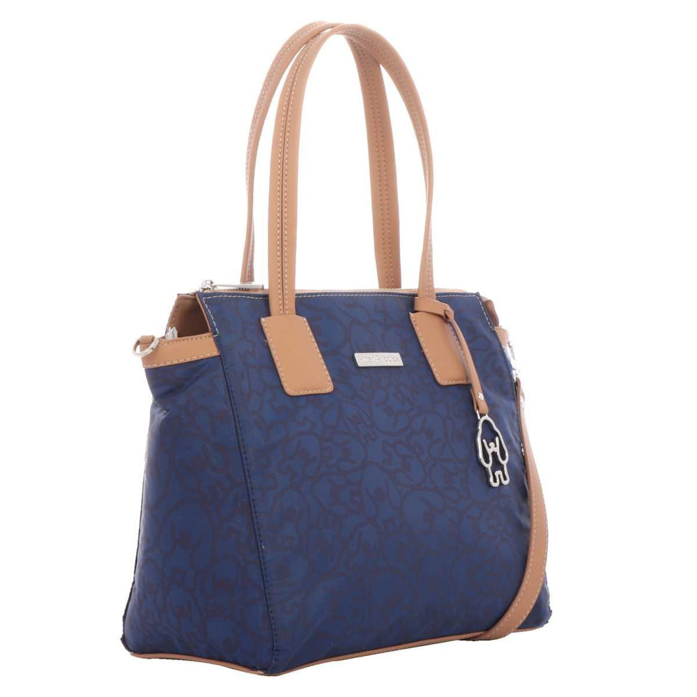 Bolso Satchel Azul Hush Puppies