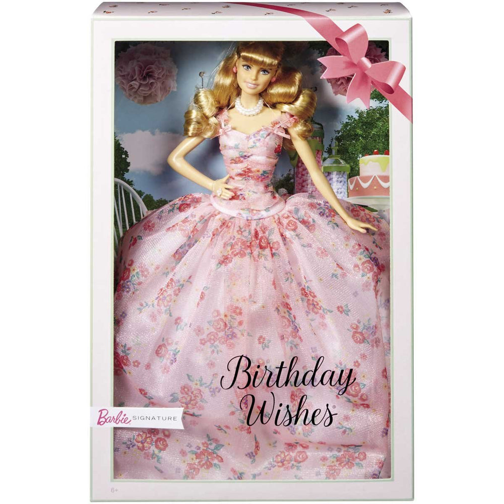 Barbie Birthday Wishes Mattel