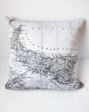 Load image into Gallery viewer, PEI Antique Map Pillow