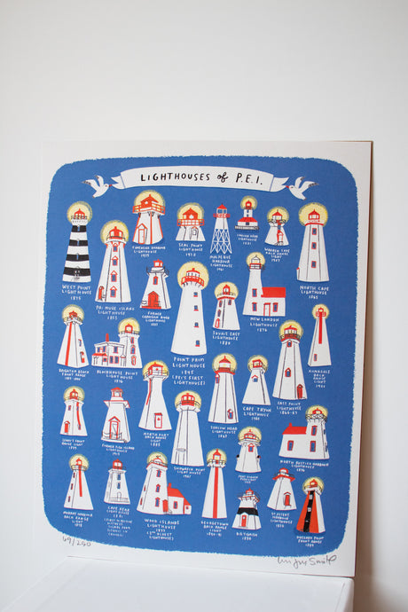 Lighthouses of PEI Print