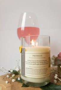 Rewined Wine Candle