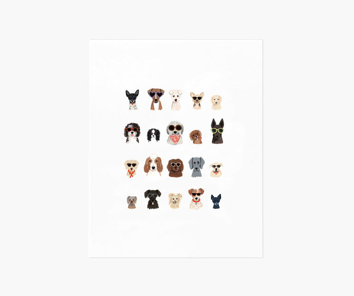 Dog days of Summer Print 8x10