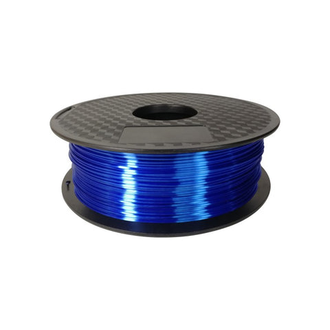 Silk PLA 1.75mm DARK BLUE - 1KG
