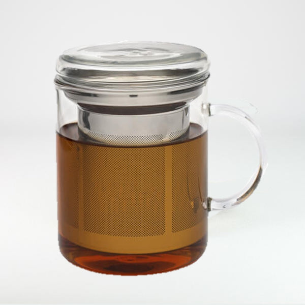 Glass Mug and Infuser