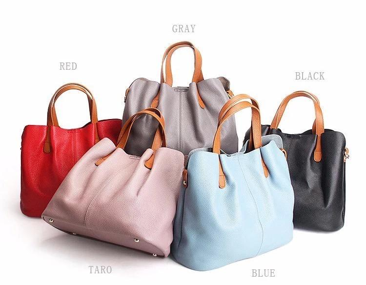 🔥52%OFF🔥-👜2019 Newest👜 Two In One Leather Shopper Tote Bag