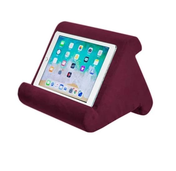 2019 New Multi-Angle Soft Pillow Lap Stand for iPads, Smartphones, Books ect