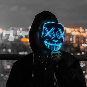 【Halloween promotion】Party & Rave Glow Purge Mask🔥 70% OFF🔥
