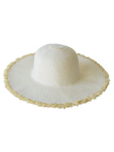 Load image into Gallery viewer, SANTA MARIA SUN HAT - IVORY