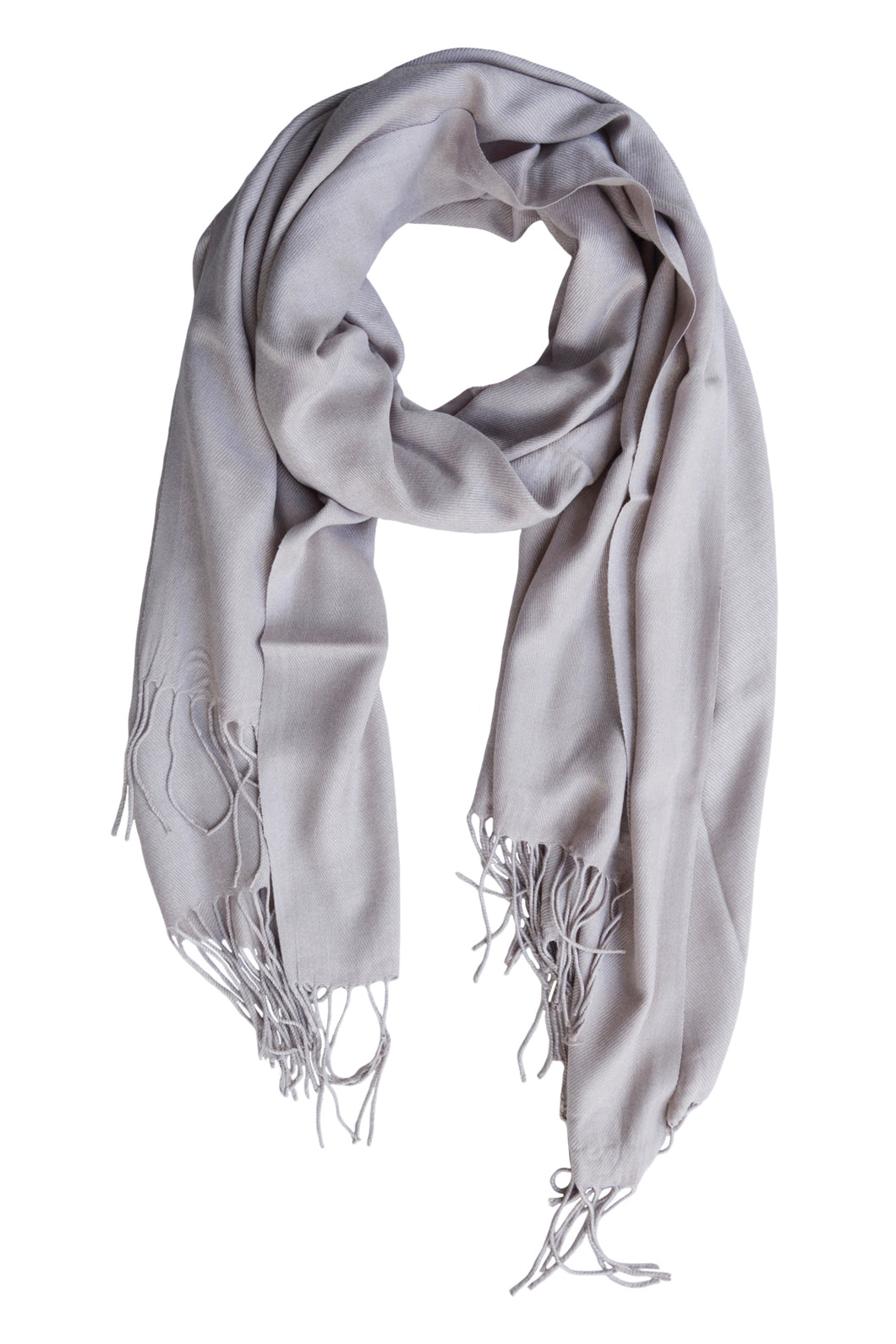 LUXE SANTORINI SCARF - TAUPE