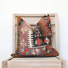 Load image into Gallery viewer, SQUARE KILIM SCATTER - ANATOLIAN