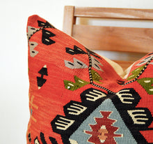 Load image into Gallery viewer, SQUARE KILIM SCATTER - BOSNIAN PIROT