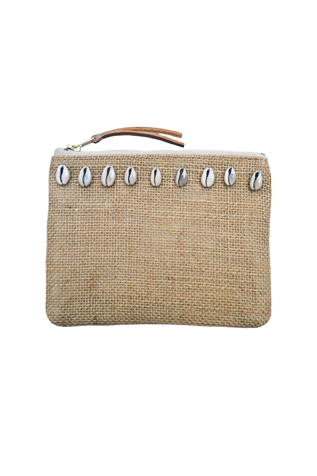 TRAVELLER JUTE COIN PURSE - NATURAL