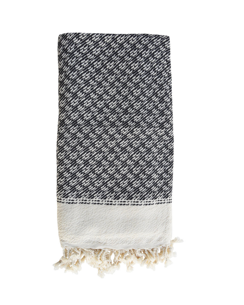 PARIKIA HANDWOVEN THROW - BLACK