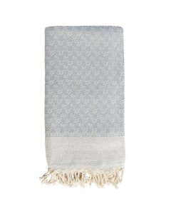 PARIKIA HANDWOVEN THROW - MUSHROOM