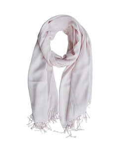 LUXE SANTORINI SCARF - PALE PINK