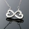 Mom To Daughter Infinity Inter-locking Necklace