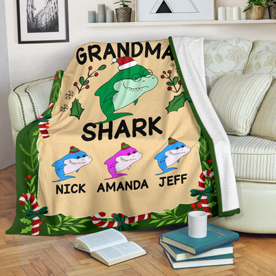 Grandma Shark Blanket