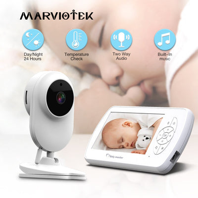 Infant Optics Video Baby Monitor with Night Vision Temperature Detection