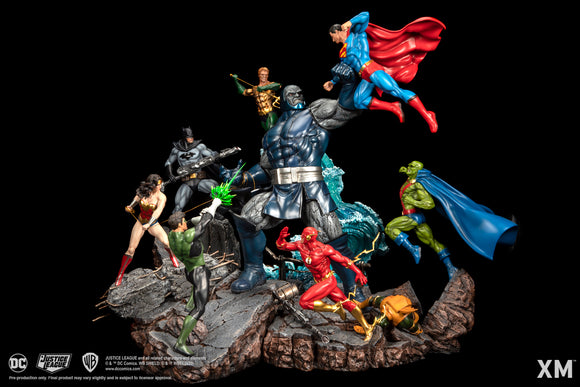 XM Studios JLA vs Darkseid Ver A (Colour) 1/6 Scale Statue