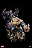 XM Studios Thanos and Lady Death (Exclusive) 1:4 Scale Statue