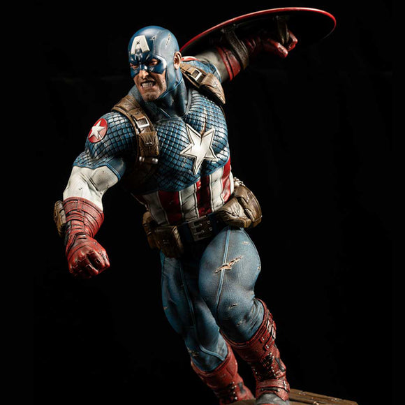 XM Studios Ultimate Captain America (Version A) 1:4 Scale Statue