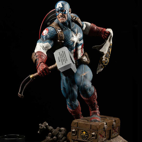 XM Studios Ultimate Captain America (Version B) 1:4 Scale Statue