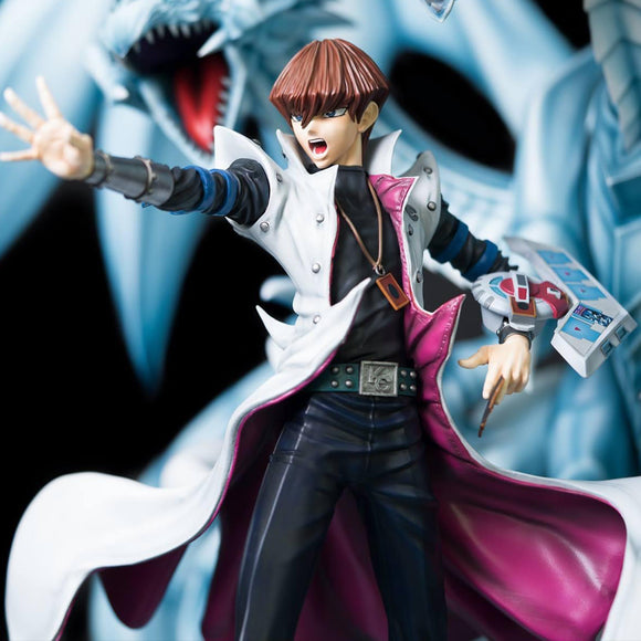 Kitsune Studio Seto Kaiba & Blue-eyes Ultimate Dragon (Yu-Gi-Oh!) 1:7 Scale Statue