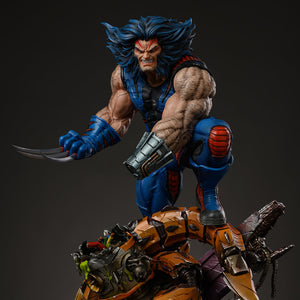 Iron Kite Studio Age of Apocalypse Wolverine 1:4 Scale Statue