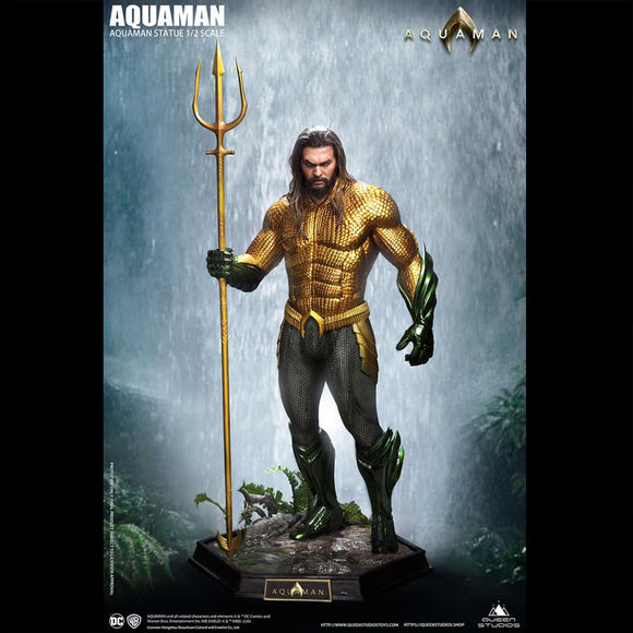 Queen Studios Aquaman 1:2 Scale Statue