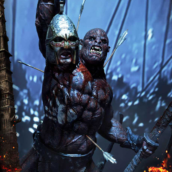 Prime 1 Studio Uruk-Hai Berserker (Lord of the Rings) (Deluxe Edition) 1:4 Scale Statue