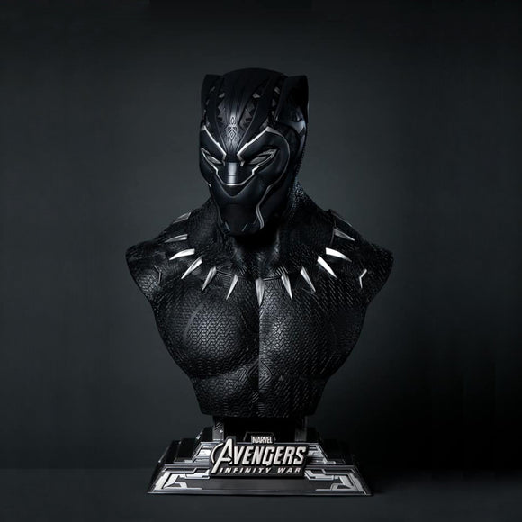 Queen Studios Black Panther 1:1 Scale Lifesize Bust Statue