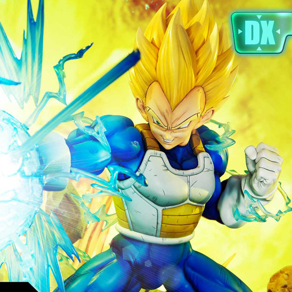 Prime 1 Studio Super Saiyan Vegeta DX Bonus Version (Dragon Ball Z) 1:4 Scale Statue